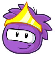 New Style Purple Puffle