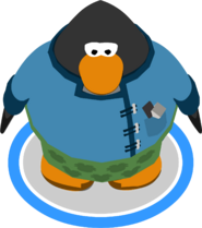 Puffle Groomer Outfit ingame