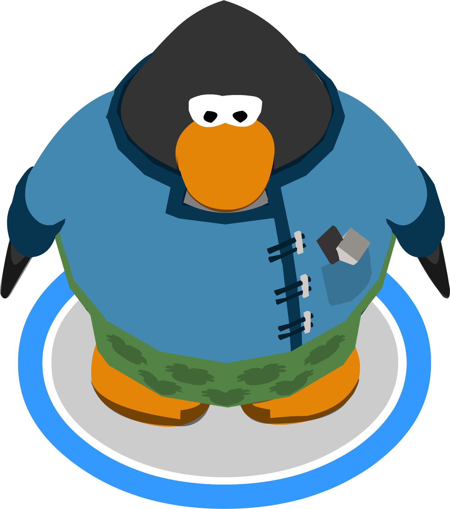 File:Puffle Groomer Outfit ingame.PNG