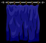 Blue Curtain sprite 004