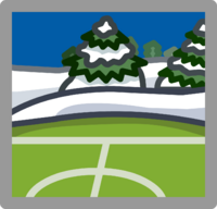Soccer Pitch Location icon