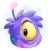 Purple Alien Puffle