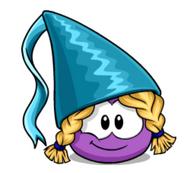Purple Princess Puffle