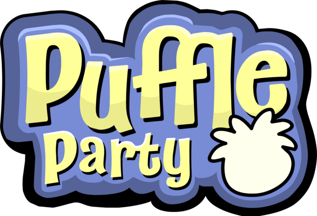 File:Puffle Party 2012 NEW LOGO.png