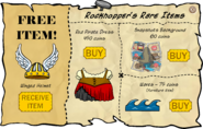 Rockhopper's Rare Items November 2007
