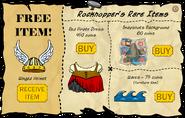 Rockhopper's Rare Items November 2007