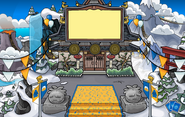 Waddle On Party Dojo Courtyard