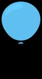 Blue Balloon sprite 005