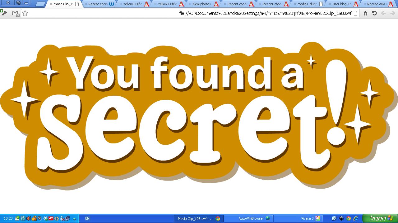 Talk Secret Items Club Penguin Wiki Fandom Powered By