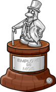Employee of the Month Trophy full award fr