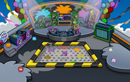 Puffle Party 2011 Night Club Rooftop