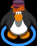 Bellhop Hat in-game