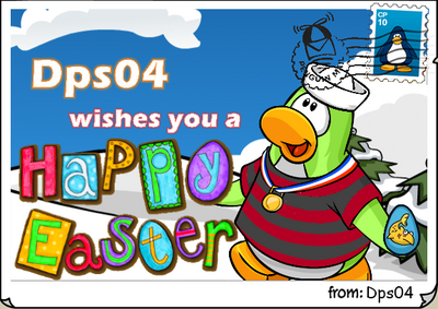 Dps04 easter postcard