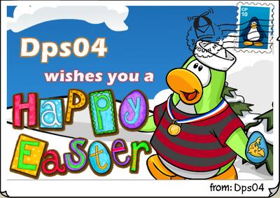 Dps04 easter postcard