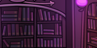 Eerie Library Background