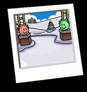Puffle Park Background Icon