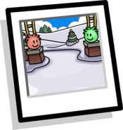 Puffle Park Background Icon