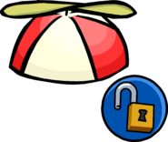 Red Propeller Cap unlockable icon