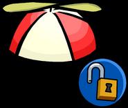 Red Propeller Cap unlockable icon