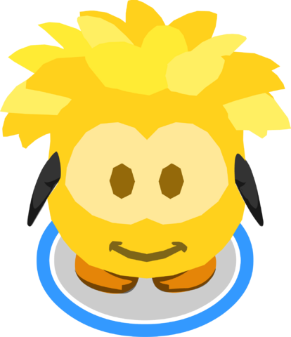 File:Gold Puffle Costume in-game.PNG