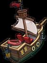 Hydro Hopper boat Pirate Party 2014