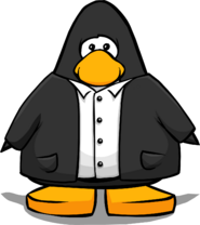 Black Suit from a Player Card
