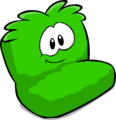 Fuzzy Green Couch sprite 004