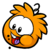 Orange Puffle Pin.png