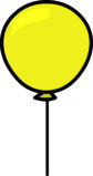 Yellow Balloon sprite 005