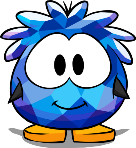 File:Blue Crystal Puffle Costume Player Card.png
