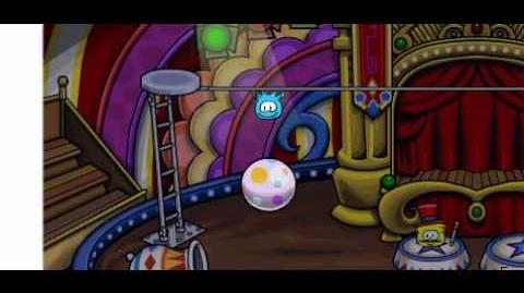 Club Penguin- The Brilliant Bouncer