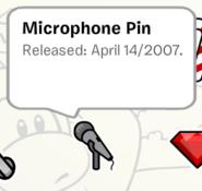MicrophonePinStampbook