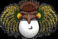 Pineapple Headdress