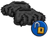 Grey Werewolf Feet clothing icon ID 16132