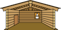 Log Cabin (igloo)
