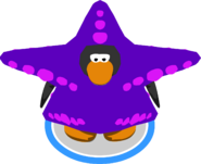Starfish Costume in-game