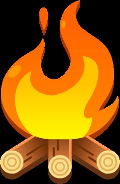 Emoji Campfire