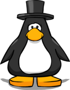 Top Hat from a Player Card