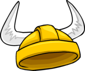 Golden Viking Helmet icon