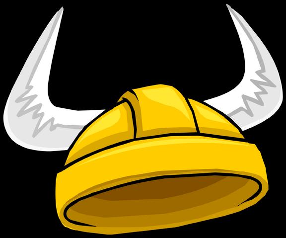 File:Golden Viking Helmet icon.png