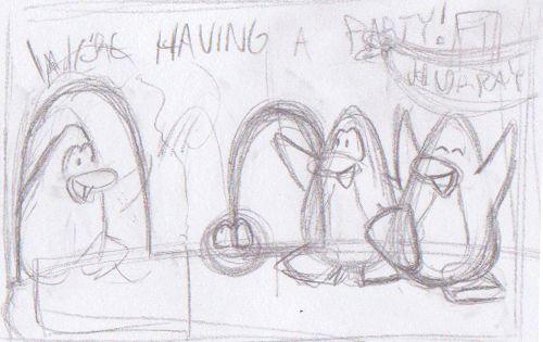 File:We're Having a Party Postcard Sketch.jpg