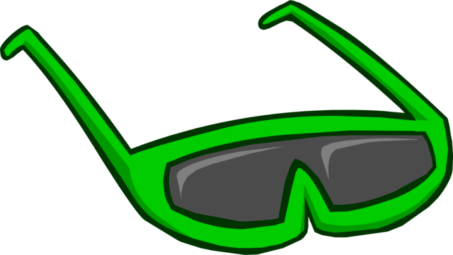 File:Green Sunglasses.png