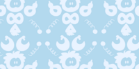 Puffle Print Background
