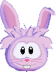 Pink rabbit 3d icon