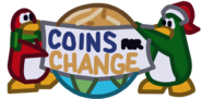 Coins for change logo ingame fixed