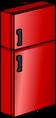 Shiny Red Fridge sprite 014