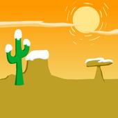 Western Sunset Background