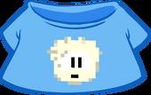 White Pixel Puffle Tee icon