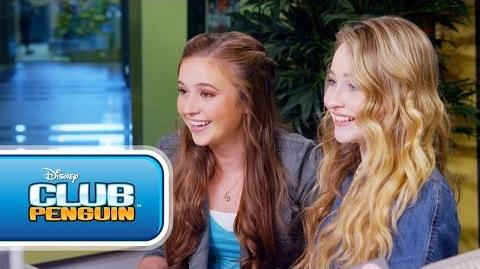 Club Penguin Sabrina Carpenter on Music Jam 2014 - Disney Channel's Game On