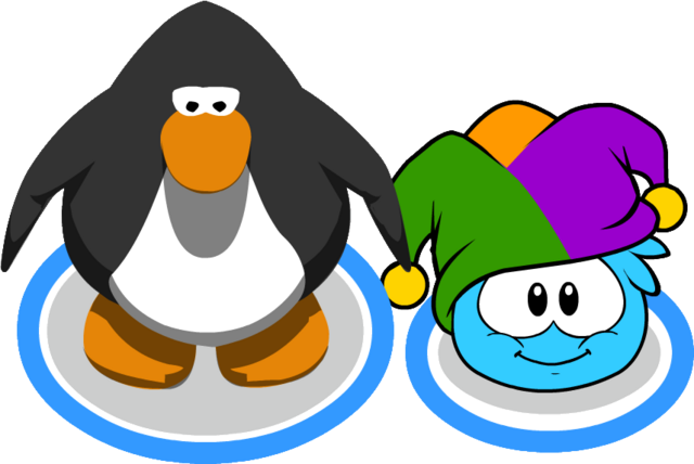 File:Jester Hat (Puffle Hat) In-Game.png